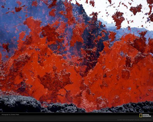 Active 화산