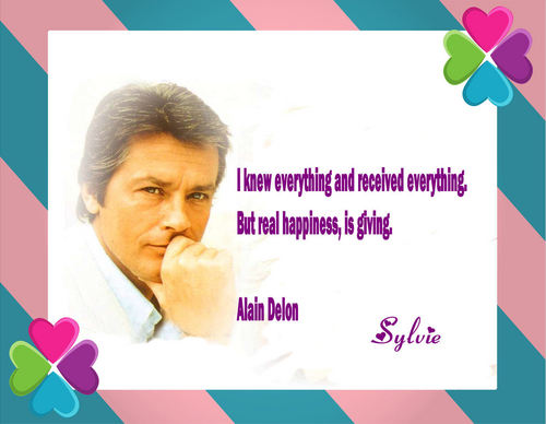 Alain Delon Quote