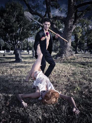 Alex Meraz as a Vampire!