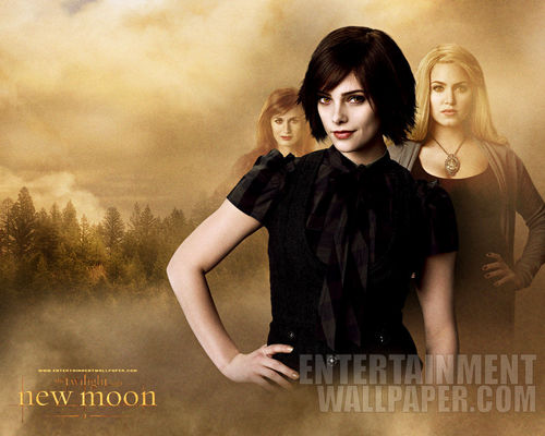 Alice, Esme & Rosalie New Moon 壁紙