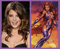 Ashley rumored to become a starfire character - twilight-series photo