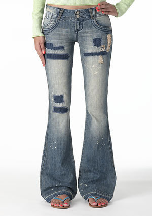 Avery Low-Rise Flare Jean