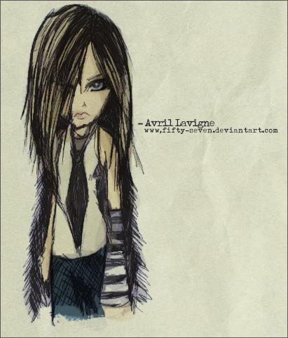 Avril shabiki Art