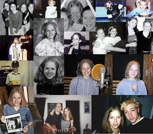 avril lavigne fondo de pantalla called Avril's Childhood pics