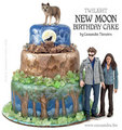 Awesome New Moon Bday Cake :) - twilight-series photo