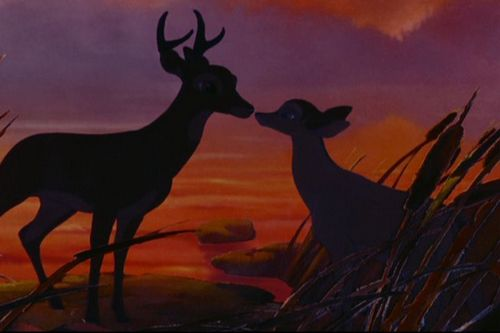 Disney Couples wallpaper entitled Bambi and Faline