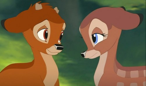Disney Couples wallpaper titled Bambi and Faline