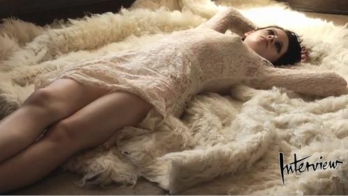 Kristen Stewart wallpaper called Behind the Scenes Interview Mag Photoshoot