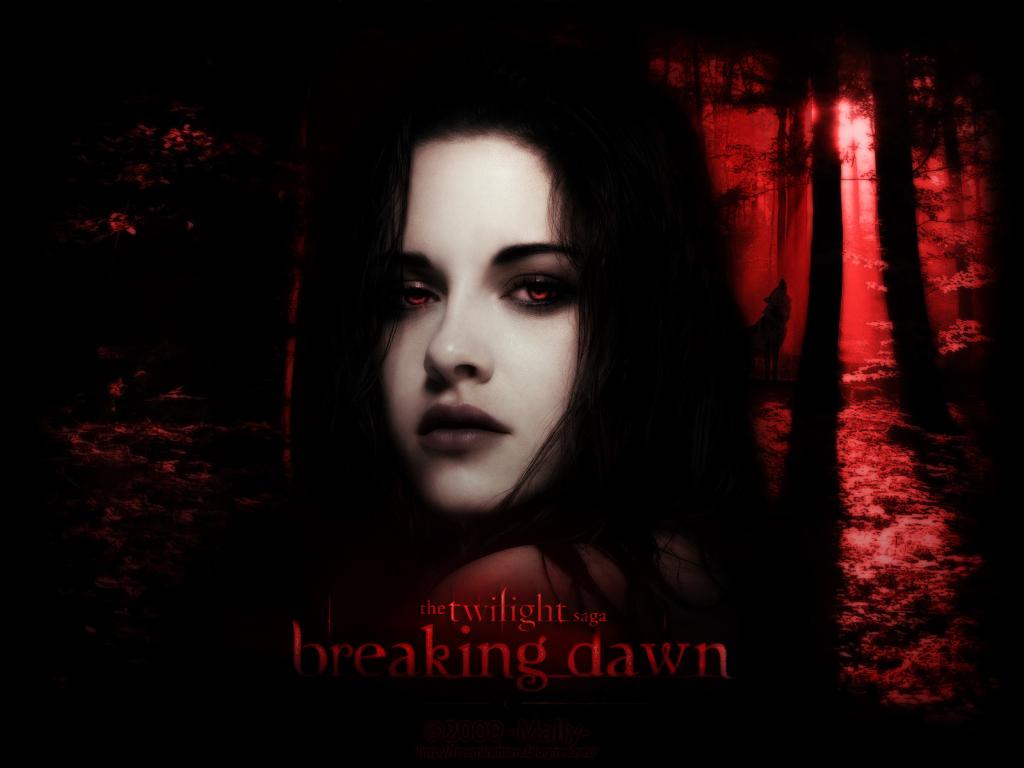 Bella Cullen Breaking Dawn Twilight Series Wallpaper