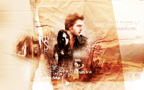 Twilight Series wallpaper entitled Bella & Edward