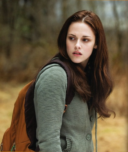Bella Swan wallpaper possibly with an outerwear, a pullover, and a cardigan entitled Bella - New Moon Stills HQ