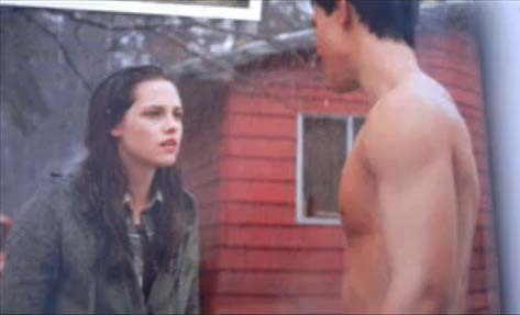 Bella and Jacob from movie companion