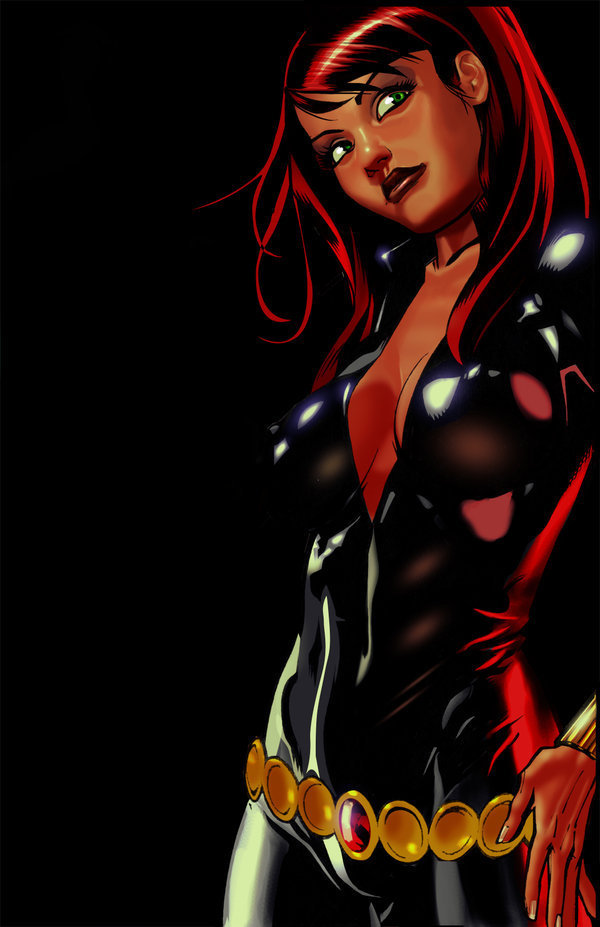 Black-Widow-marvel-superheroines-