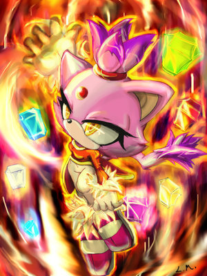 blaze cat. Blaze Powers