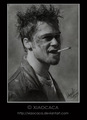 Brad Pitt: Tyler Durden - fight-club fan art