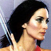 The Matrix photo containing a portrait entitled Carrie-Anne Moss
