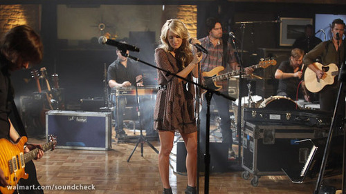 Carrie Underwood on Soundcheck