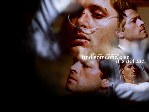 Background images in the dean and castiel club tagged castiel dean