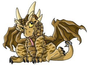 Dragonheart & Dragonheart 2 wallpaper possibly containing common ginger titled chibi Draco