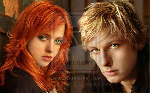 Mortal Instruments wallpaper containing a portrait titled Clary Plus Jace Equals Love