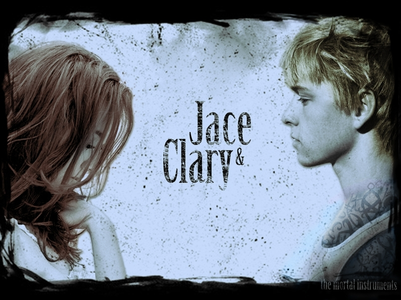 city of bones jace. Clary and Jace Wallpaper