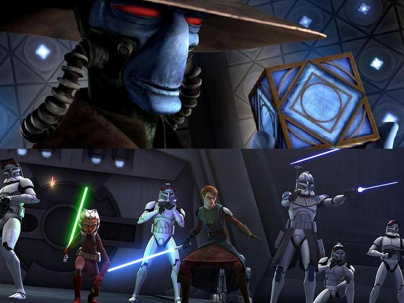 star wars clone wars wallpaper. Clone Wars Season 2 Premiere