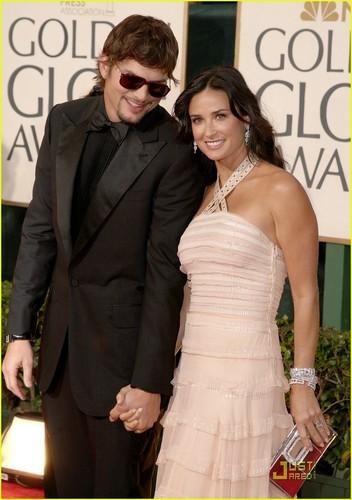 Demi & Ashton @ 2009 Golden Globes