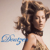 Doutzen Kroes litrato containing a portrait, a bustier, and a chemise called Doutzen Kroes