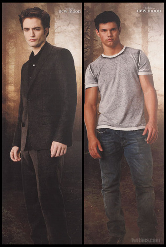 Edward & Jacob New Moon- new picture