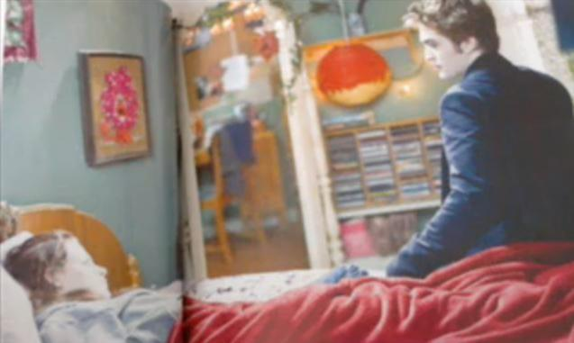 Edward in Bella's giường <3 NEW PICS!