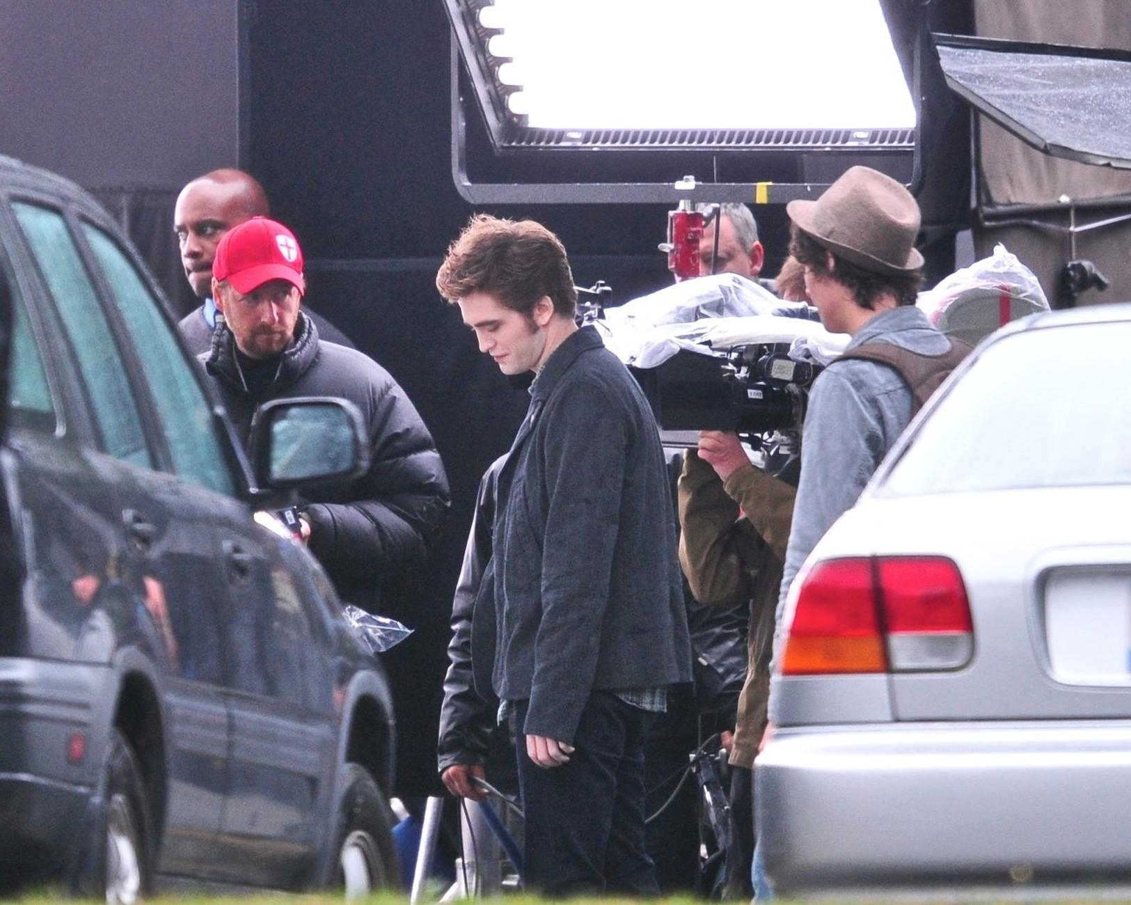From the Eclipse filming set