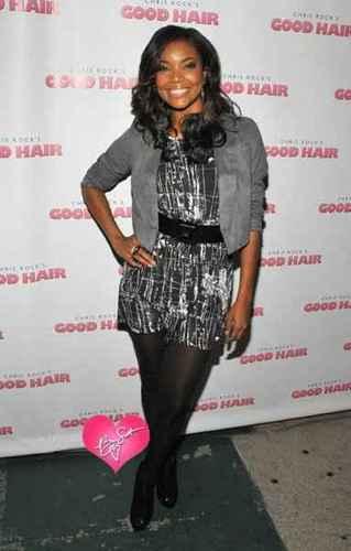 Gabrielle at Good Hair Premiere in L.A.