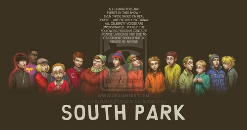 Goin' Down to South Park - south-park Fan Art
