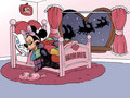 mickey-and-minnie - Good night Minnie  wallpaper