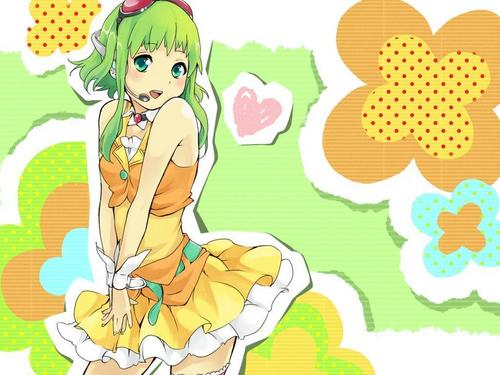 Gumi - vocaloids Wallpaper