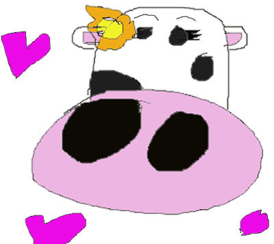 Guys, I found the cow.