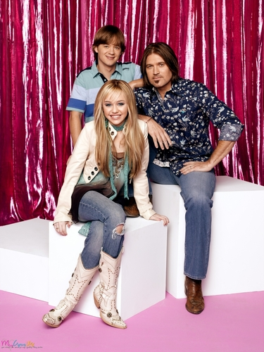 Miley Cyrus wallpaper probably with bare legs, a drawing room, and a living room titled Hannah Montana Season 1 Promotional Photos [HQ] <3