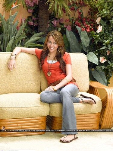 Hannah Montana wallpaper with a couch called Hannah Montana Season 3 Promotional Photos <3