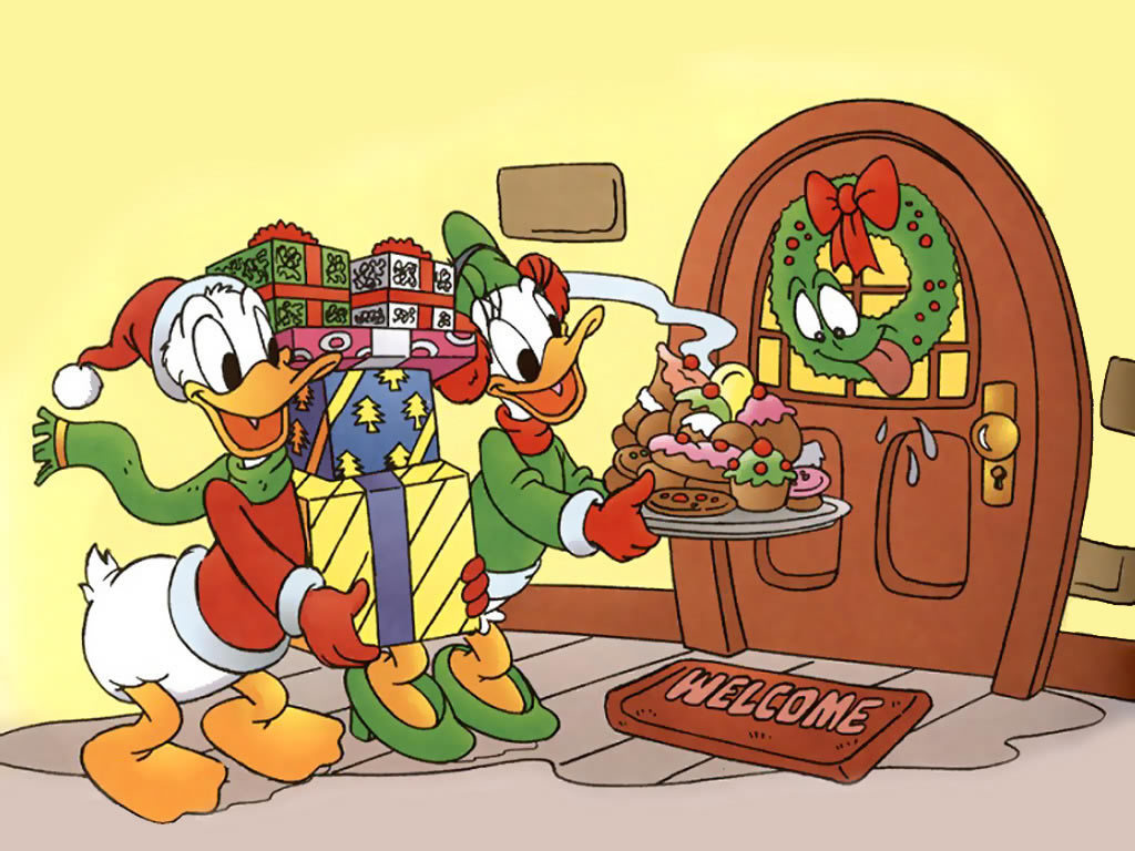 Happy 圣诞节 Donald !