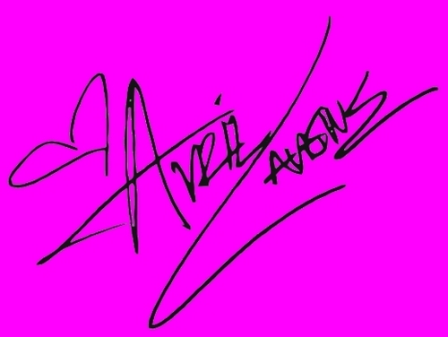 Her signiture!