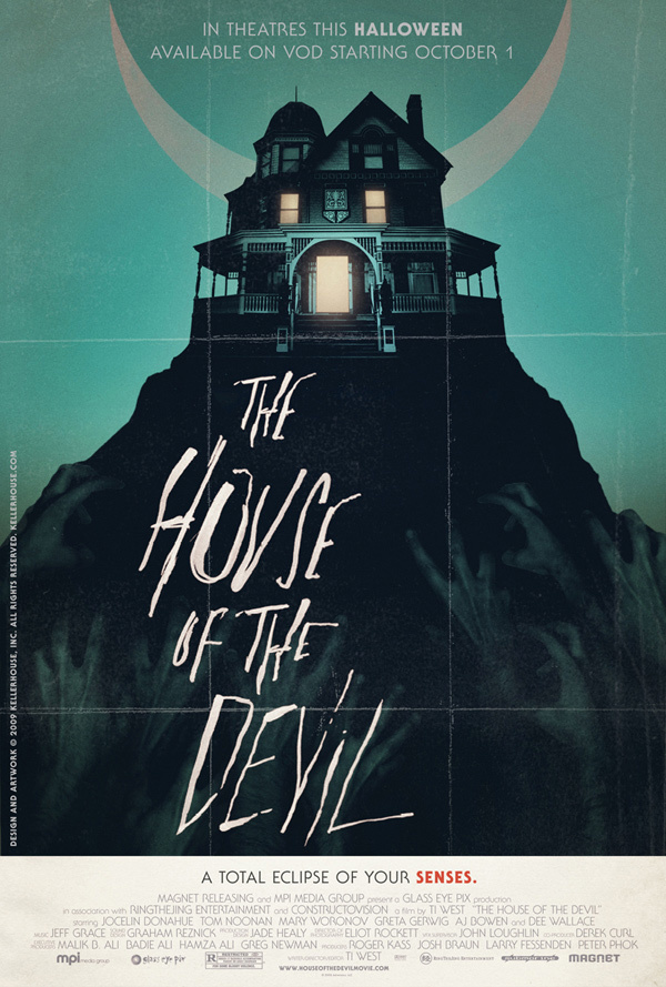 House of the devil 2009 posters horror movies photo for Classic house 1995
