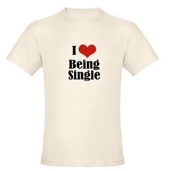 I Любовь Being Single рубашка
