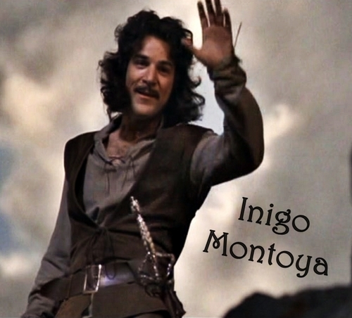 The Princess Bride: Inigo Montoya achtergrond probably with a hip boot, a well dressed person, and a cocktail dress entitled Inigo Montoya