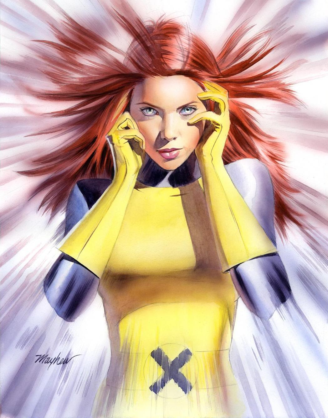 Marvel superheroines jean grey