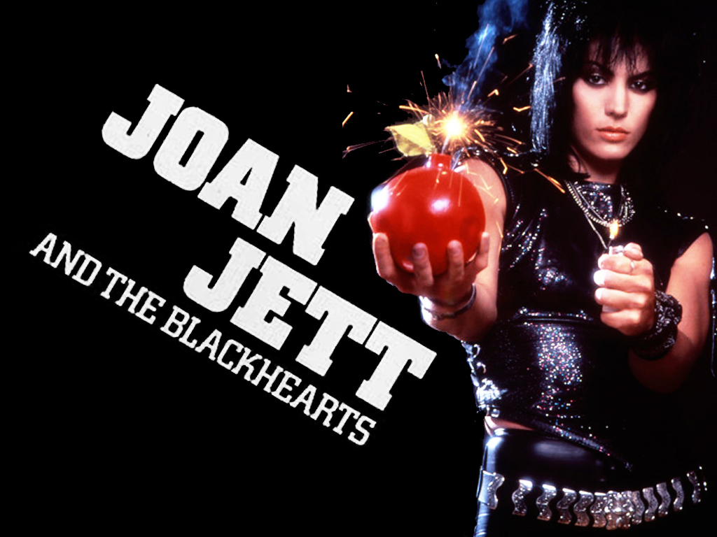 Joan Jett And The Blackhearts Joan Jett Wallpaper