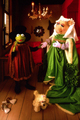 Kermit and Miss Piggy - kermit-the-frog photo