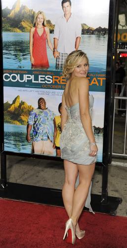 Kristen Bell - Premiere of Couples Retreat