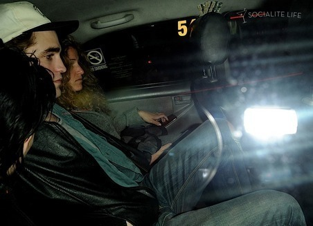Kristen and Robert Dine Out in Vancouver