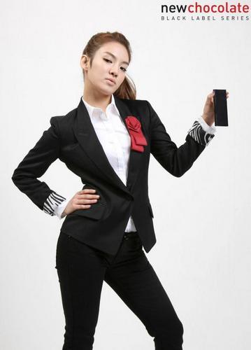 LG chokoleti Phone-Hyo Yeon