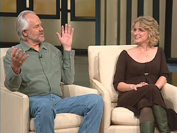 Liz and Richard on Oprah in 2007